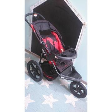 Wózek Baby Trend Xcel Jogger, Tiger Lily, gratis