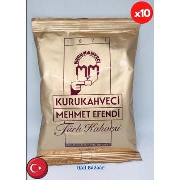 KAWA TURECKA - MEHMET EFENDI 100 g X 10 szt