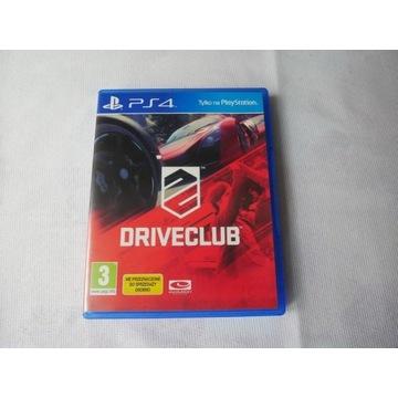 Gra na konsolę PS 4 DRIVE CLUB