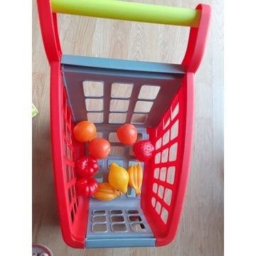 Koszyk do zakupów dla dziecka.Nowy