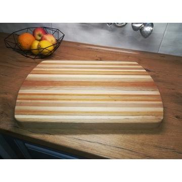 Taca drewniana deska do krojenia handmade
