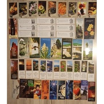 Zakładki do książek, zestaw - 260 sztuk