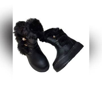 Buty zimowe ocieplane