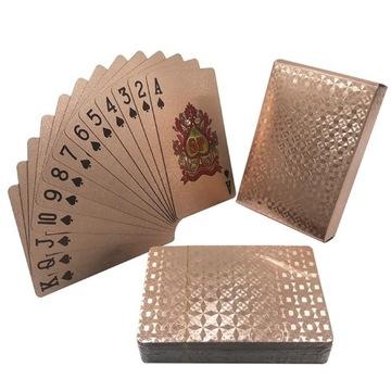 KARTY DO GRY pokerPLASTIK różne talie super jakość