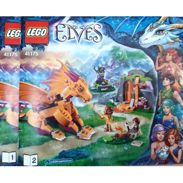 LEGO ELVES 41175 Jasinia smoka ognia jak nowy