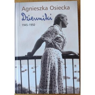 AGNIESZKA OSIECKA - DZIENNIKI 1945 - 1950