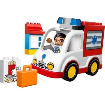 -= LEGO DUPLO 10527 - KARETKA AMBULANS =-