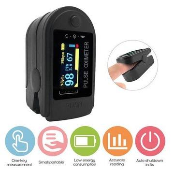 Pulsoksymetr napalcowy Monitor saturacji tlenu