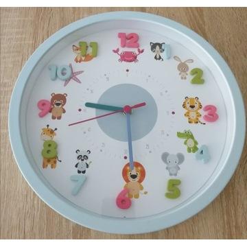Zegar ścienny dziecięcy TFA Małe Zwierzęta Nowy