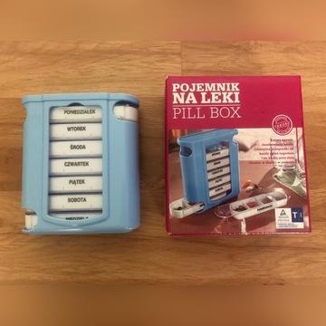 Pojemnik na tabletki Pill box organizer NOWY