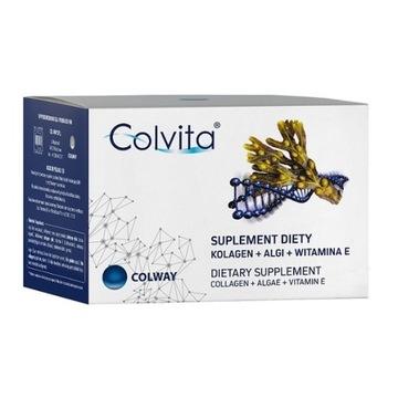 COLVITA 120szt. kolagen na stawy skóre ścięgna