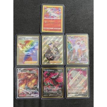 Pokemon TCG zestaw kart full art / vmax