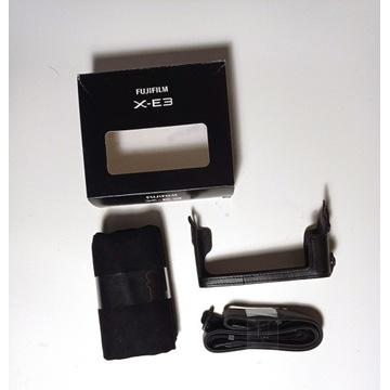 FujiFilm X-E3 Leather Case BLC-XE3 grip plus pasek