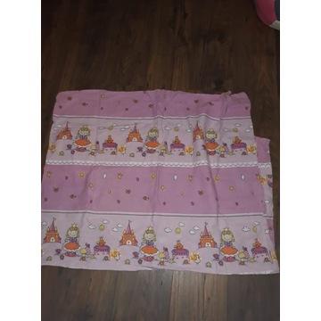 Pościel 100x135 różowa dla dziewczynki