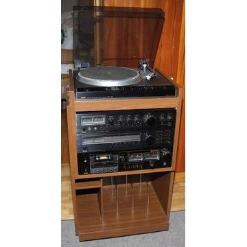 HiFI stereo z lat 80-tych. Kompletny zestaw