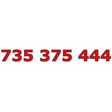 735 375 444 T-MOBILE ŁATWY ZŁOTY NUMER STARTER