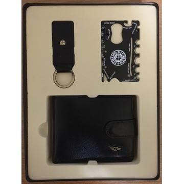 Peterson zestaw prezentowy- portfel, brelok, karta
