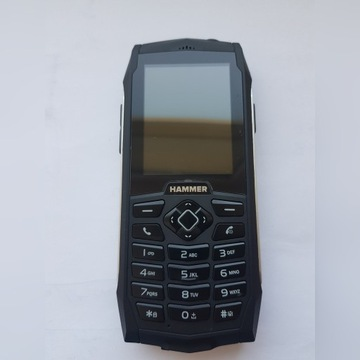 Telefon HAMMER 3 silver stan idealny! Gwarancja!