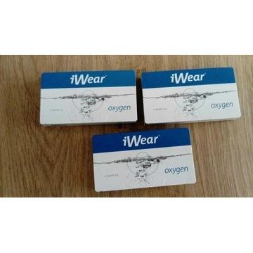 soczewki kontaktowe iWear Oxygen moc -3,75