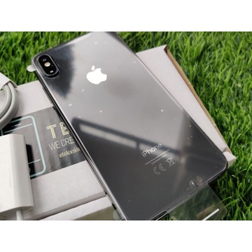 iPhone XS 64GB SILVER SREBRNY Biały Grey Bat 86%