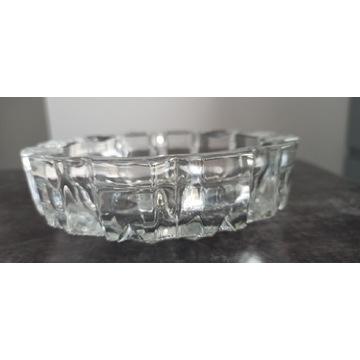 Kryształowa misa szklana grube szkło