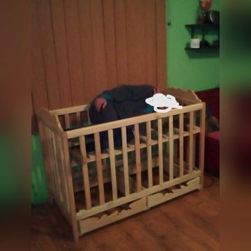 Łóżeczko dziecięce ręcznie robione