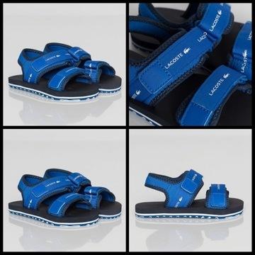 Sandałki lacoste rozmiar 32 jak 31