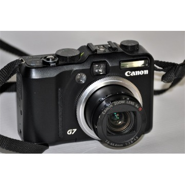 Canon Power Shot G7 Digital Camera - stan idealny.