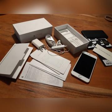 IPHONE 6 super stan+ słuchawki bezprzewodowe+etui!