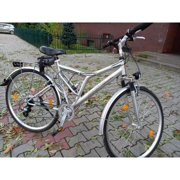 Rower miejski FISCHER 26 Alu Kettler jak NOWY
