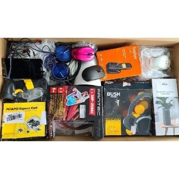 Pakiet paczka elektronika różności mix handel paka