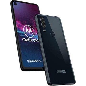 Smartfon Motorola One Action 4/128GB +GRATISY