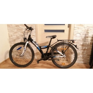 Rower FALTER FX 407 Koła 24 Rama Alu Biegi Shimano