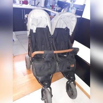 Wózek bliźniaczy KEES Twin K2 Plus
