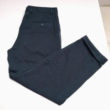 Eleganckie wełniane spodnie vintage Yves Saint Lau