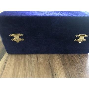 Piękne kielichy EPNS w oryginalnym pudełku z epoki