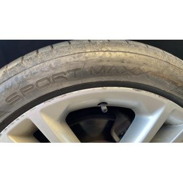 2 Opony Dunlop Sport Maxx RT2 225/45r18 0418 6mm