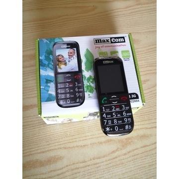 Telefon MaxCom MM721 3G dla seniora.