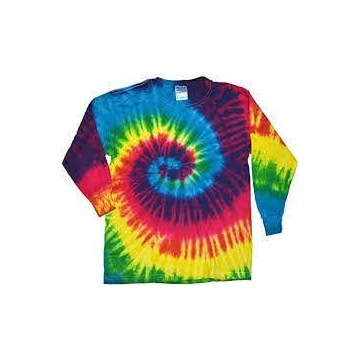 Koszulka t shirt z dlugim rekawem color tone xl