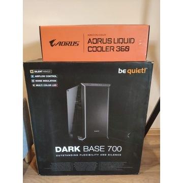 Aorus Liquid Cooler + Be Quiet Dark Base 700