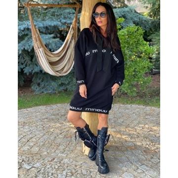 Bluza Roxanne czarna  one size