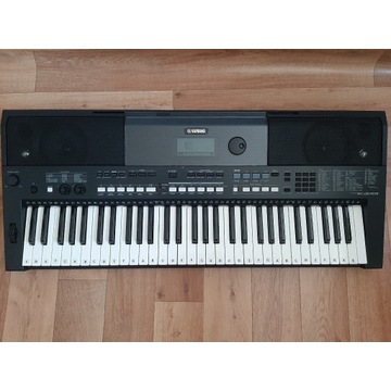 Keyboard Yamaha PSR-E433 + pedał + akcesoria