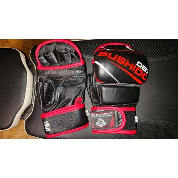 Rękawice treningowe DBX BUSHIDO L skóra do MMA