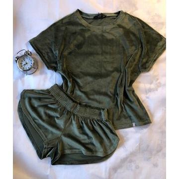 Piżama welurowa damska