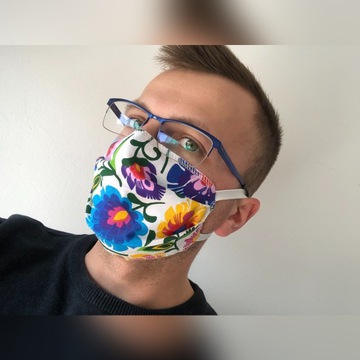 Maska Polska 100% bawełna