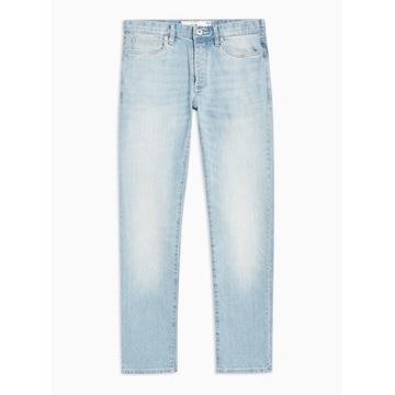 Spodnie Jeansy TopMan jasne W34 L30