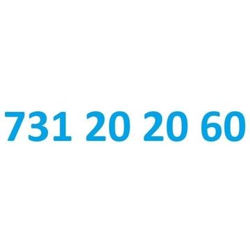 731 20 20 60 starter play ładny złoty numer
