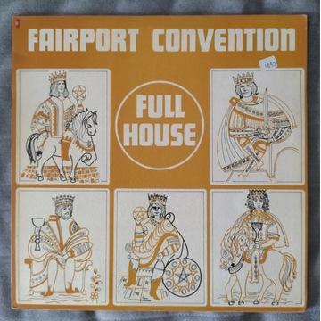 FAIRPORT CONVENTION FULL HOUSE winyl UK