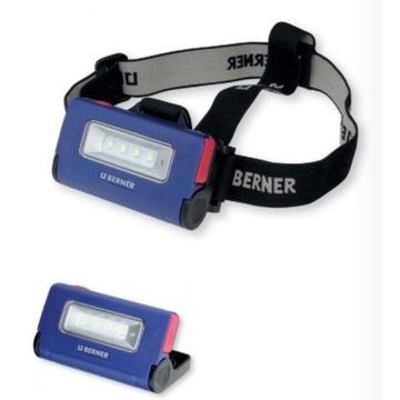 Berner 2w1 czołówka czołowa akumulatorowa