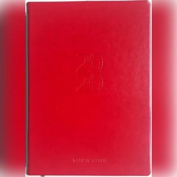 Kalendarz medialny 2020, czerwony